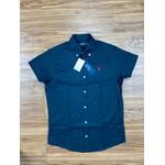 Camisa Manga Curta Ralph Lauren - Preta