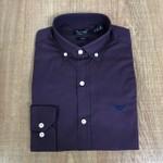 Camisa Armani - Manga Longa Roxa