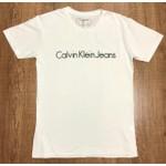 Camiseta Calvin Klein Bege