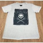 Camiseta Cavalera Bege