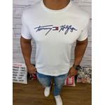 Camiseta Tommy Hilfiger- Diferenciada Branca
