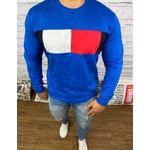 Blusa de Frio Tommy Hilfiger Moletinho Azul
