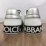 Tenis Dolce & Gabbana - Calcanhar Prata✅