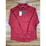Camisa Manga Longa Tommy - Vermelha