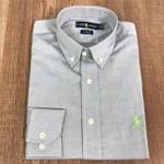 Camisa Manga Longa Ralph Lauren - Cinza