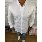 Camisa Ralph Lauren - Manga Longa Branca