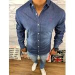 Camisa Jeans Manga Longa - Calvin Klein