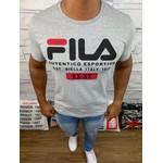 Camiseta Fila - Cinza