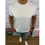 Camiseta Nike -Branca Logo Cinza