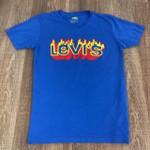Camiseta Levis - Azul Bic