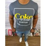Camiseta Coca Cola - Chumbo