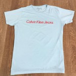 Camiseta Calvin Klein - Azul Claro