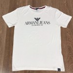 Camiseta Armani -creme