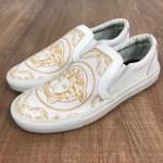 Sapatênis Versace - Slip-On Branco