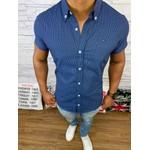 Camisa Manga Curta Tommy - Azul