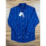 Camisa Manga Longa Ralph Lauren - Azul