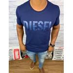 Camiseta Diesel - Azul Marinho Diferenciada