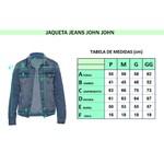 Jaqueta Jeans JJ - Detalhe no Ombro