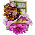 Baú Top com Flores