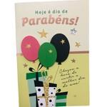 Cartão Dia de Parabéns!
