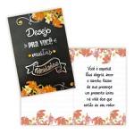 Cartão Desejo para você