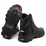 Bota Bell Boots Adventure/Motoqueiro 3000 - Preto/Vermelho