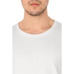 Camiseta Masculina 100% Algodão - Branca
