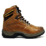 Bota Caterpillar 2061 Avelã + Camiseta Cat