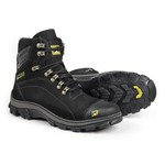 Bota Caterpillar 2160 - Preto + Chinelo Cat
