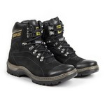 Bota Caterpillar 2061 - Preto + Boné Cat