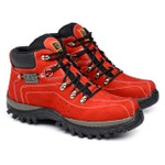 Bota Caterpillar Adventure - Vermelha