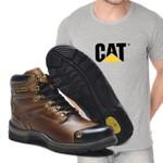 Bota Caterpillar 2189 - Avela + Camiseta Cat