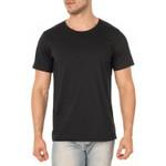 Kit 3 Camisetas Básicas Masculina 100% Algodão Cinza Preto e Branco
