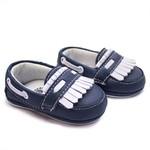 Tênis Infantil Baby Way - Azul / Branco