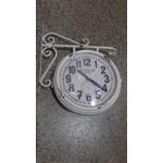 Relógio de parede Estação Antigo - Dupla Face (Vintage)