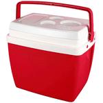 Caixa Térmica 18 Litros Vermelha - Mor