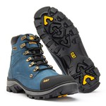 Bota Cat Rubber - Azul