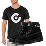 Bota Célula Thisbe - Preto + Camiseta Célula Preta