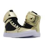 Sneaker De Treino Feminino Dourado
