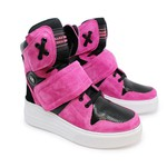 Sneaker Para Academia e Dançar Pink com Preto