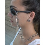 Cordinha de Óculos Corrente Metal Grafite *