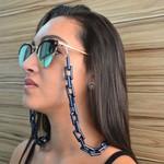Cordinha de Óculos Corrente Quavis Azul Marinho *