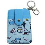 Chaveiro Porta Cartão Azul