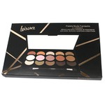 Paleta de Sombras Matte Fantastic Luisance 15 cores Nude 01 *