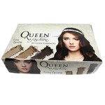 Pó Compacto Facial Queen Display com 32 unidades Tons Escuros *