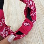 Tiara Turbante Pink