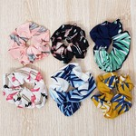 Dúzia De Scrunchies Flamingos