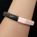 Bracelete Acrílico Moisaico Rosê