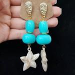 Brinco Estrela Do Mar Azul