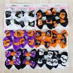Dúzia De Bicos De Pato Infantil Laços Halloween